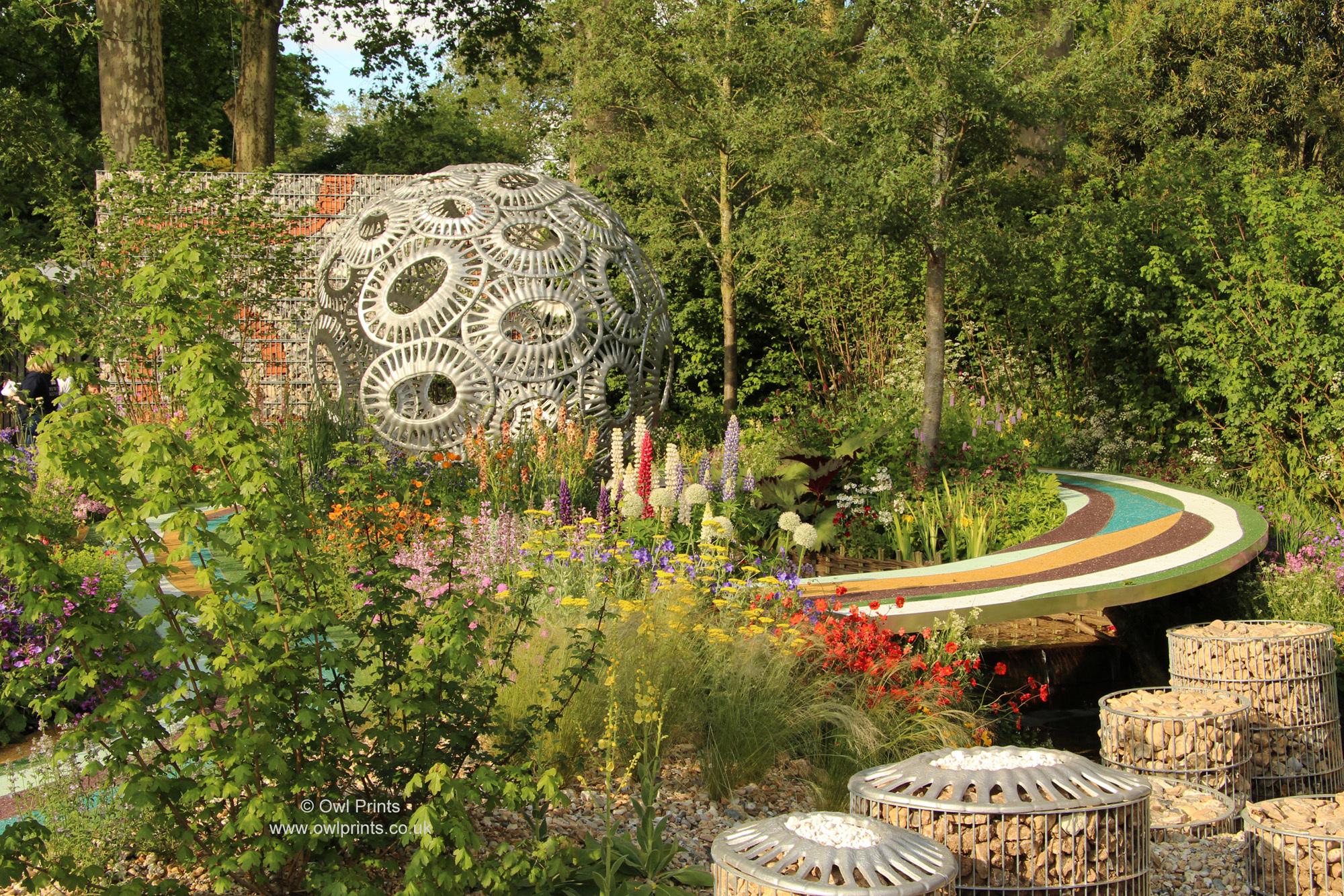 Hertfordshire Garden Show 2016 Garden Ftempo
