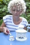 Lady Lighting Tea Lantern