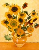 Pastiche Van Gogh Sunflowers