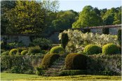 Chilworth Manor walled garden