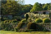 Chilworth Manor walled garden