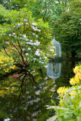 Pond Reflection, Corsock House garden