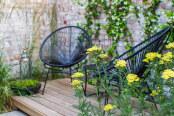 A small urban garden