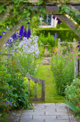 Early Morning in Wollerton Old Hall Garden