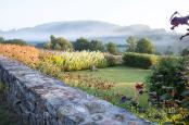 Sunken walled garden