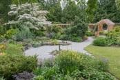 Cornus in full bloom, Heronswood Gardens, Kingston WA USA
