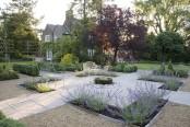 Formal garden, Cheshire - NGS garden