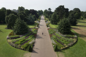 The Great Broad Walk Borders at Kew in Summer