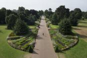 The Great Broad Walk Borders at Kew in Summer