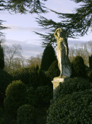 Statue & Topiary