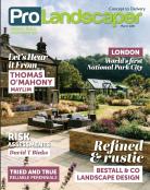 Front Cover Pro Landscaper Magazine