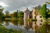 Autumn Reflections at Scotney Castle