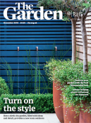 Front cover of The Garden (RHS Magazine) , Issue 11/2018