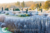 The Italian Garden on a January Morning