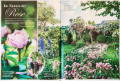 "Rose garden feature in issue 2/17 of ""Lust auf Garten"""