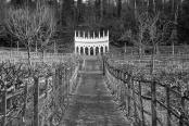 Exedra, Painswick Rococo Garden