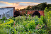 Sunset in the walled garden